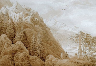 The autumn - Caspar David Friedrich