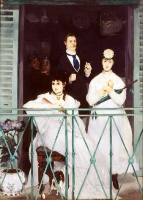 The Balcony - Édouard Manet