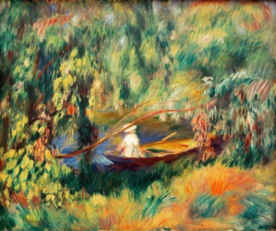 The barque - Pierre Renoir