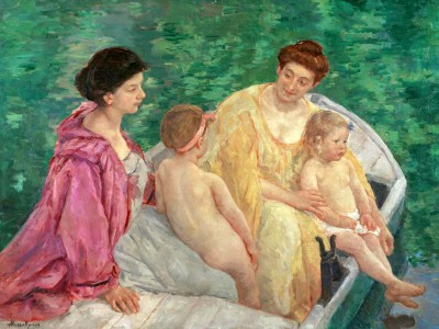 The bath - Mary Cassatt