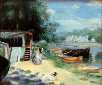 The bathing place - Pierre Renoir