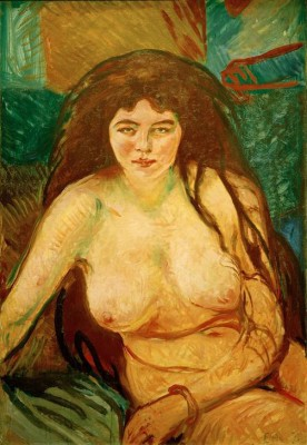 The beast - Edvard Munch
