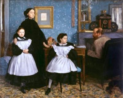 The Bellelli family - Edgar Degas