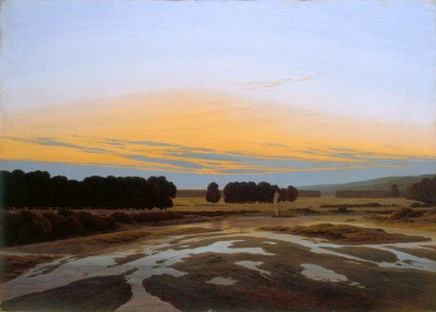 The big preserve in Dresden - Caspar David Friedrich