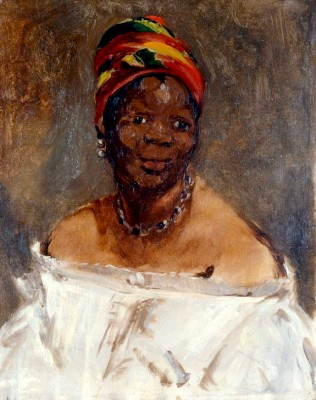 The Black Woman - Édouard Manet