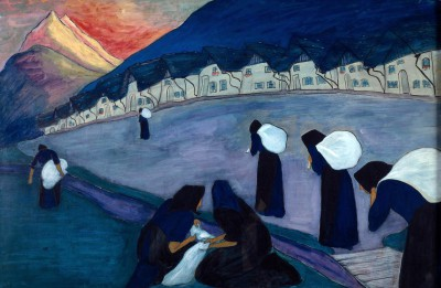 The Black Women - Marianne von Werefkin