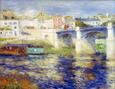 The bridge of Chatou - Pierre Renoir