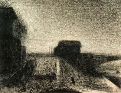 The Bridge of Courbevoie - Georges-Pierre Seurat
