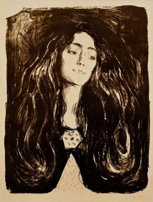 THE BROOCH, EVA MUDOCCI - Edvard Munch