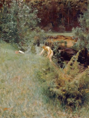 The brook - Anders Zorn