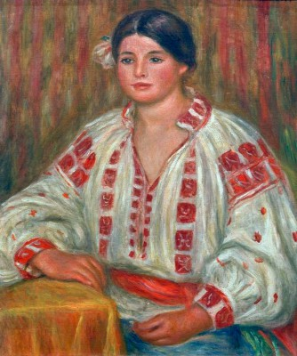 The Bulgarian Blouse - Pierre Renoir