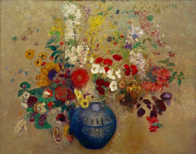 The bunch of flowers - Odilon Redon