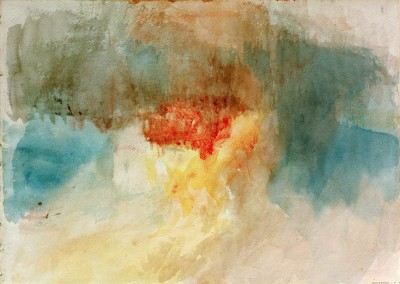 The Burning of the Houses of Parliament - William Turner