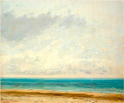 The Calm Sea - Gustave Courbet