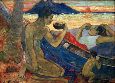 The Canoe - Paul Gauguin