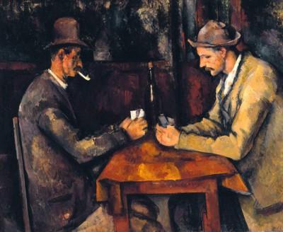 The Card players - Paul Cézanne