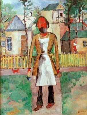 The Carpenter - Kazimierz Malewicz
