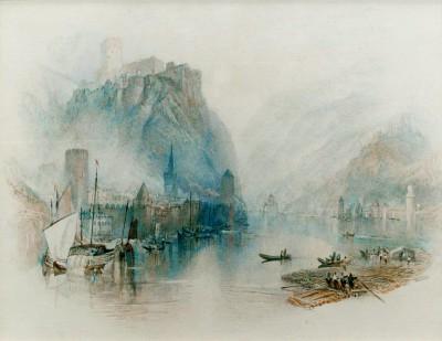 The Castellated Rhine - William Turner