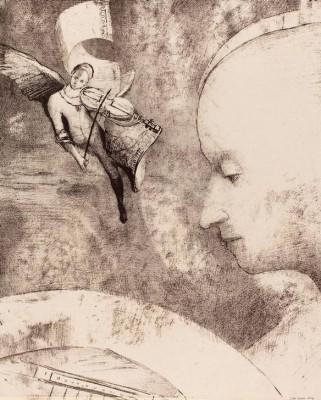 The Celestial Art - Odilon Redon