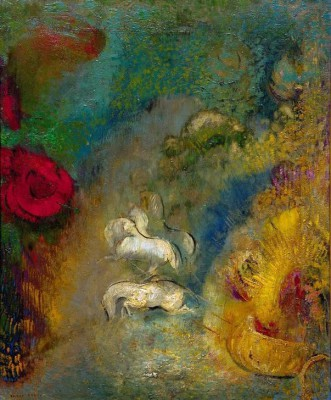 The Char of Apollo - Odilon Redon
