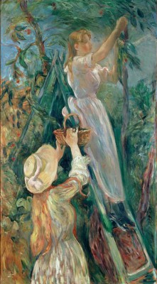 The Cherry Pickers - Berthe Morisot