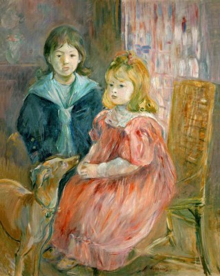 The children of Gabriel Thomas - Berthe Morisot