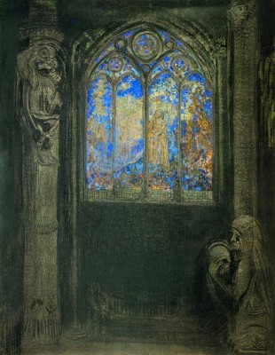 The church window II - Odilon Redon