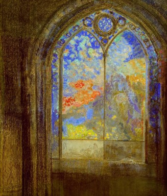 The church window III - Odilon Redon