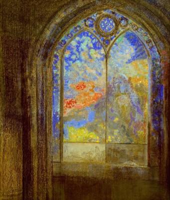 The church window III - Odilon Redon