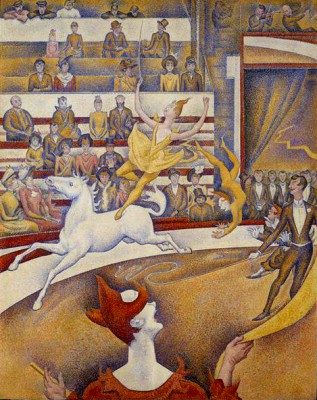 The circus (2) - Georges-Pierre Seurat
