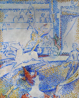 The circus - Georges-Pierre Seurat