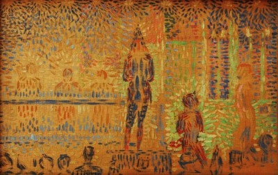 The Circus Parade - Georges-Pierre Seurat