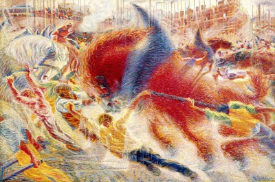 The City Rises - Umberto Boccioni