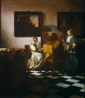 The Concert - Jan Vermeer