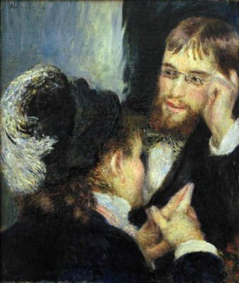 The conversation - Pierre Renoir