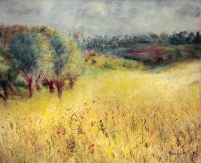 The cornfield - Pierre Renoir