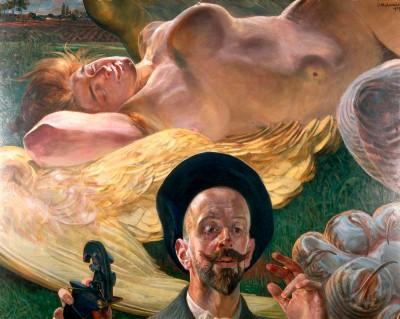 The Creative Moment - Sleeping Harpy - Jacek Malczewski