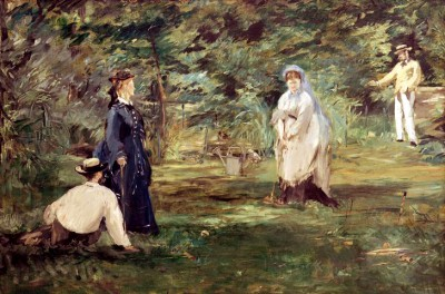 The croquet game - Édouard Manet