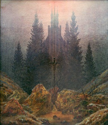 The cross in the mountains - Caspar David Friedrich