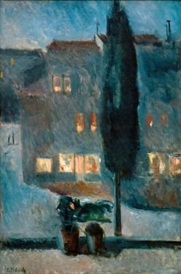 The Cypress - Edvard Munch