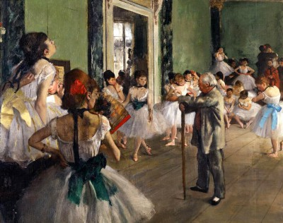 The dance class - Edgar Degas