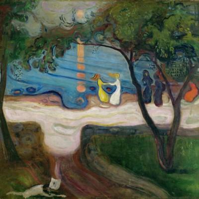 THE DANCE ON THE SHORE - Edvard Munch