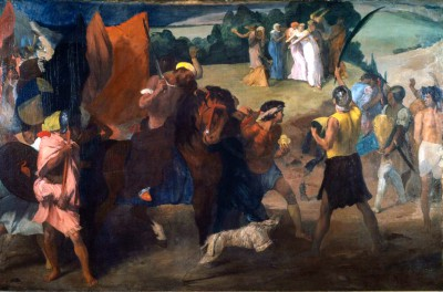 The Daughter of Jephthah - Edgar Degas