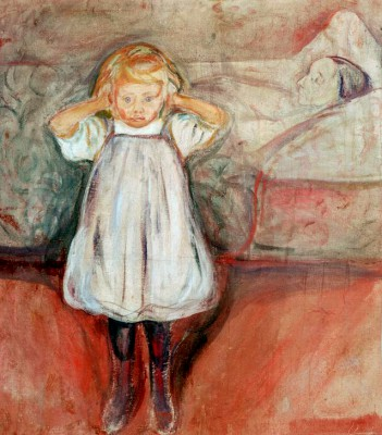 The Dead Mother - Edvard Munch