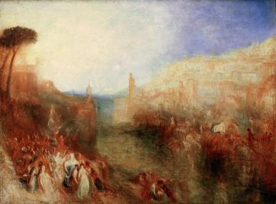 The Departure of the Fleet - William Turner