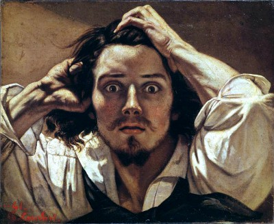 The Desparing Man - Gustave Courbet