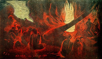 The devil speaks - Paul Gauguin
