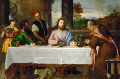 The disciples in Emmaus - Tycjan