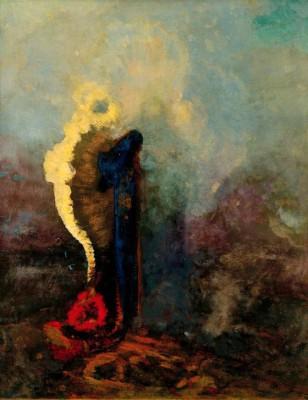 The dream - Odilon Redon