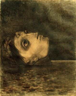 The drowned glory - Odilon Redon